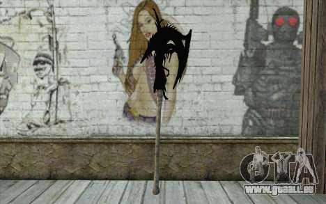 Dante Demonic Axe für GTA San Andreas zweiten Screenshot
