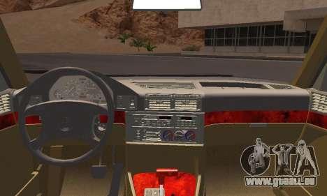 BMW 535i Stock für GTA San Andreas zurück linke Ansicht