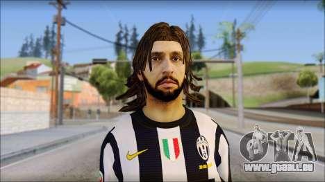 Andrea Pirlo pour GTA San Andreas troisième écran