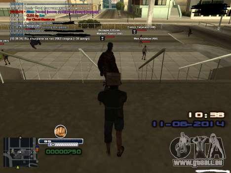 Fake time for Diamond Rp für GTA San Andreas