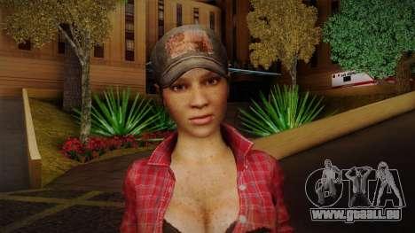 Misty from Call of Duty: Black Ops für GTA San Andreas dritten Screenshot