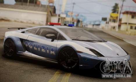 Lamborghini Gallardo LP 570-4 2011 Police v2 für GTA San Andreas
