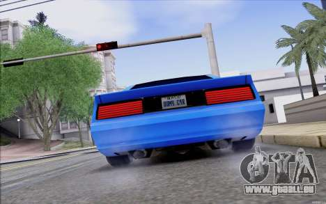 Buffalo Drift Style pour GTA San Andreas vue de droite