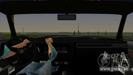 HD Sabre Turbo pour GTA Vice City sur la vue arrière gauche