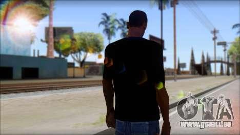 Afends T-Shirt pour GTA San Andreas deuxième écran