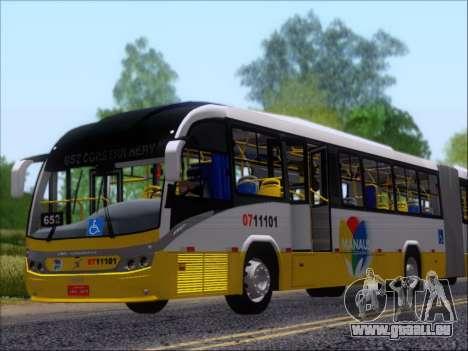 Neobus Mega BRT Volvo B12M-340M pour GTA San Andreas moteur