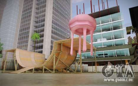 Méduse (Bob L'Éponge) pour GTA San Andreas deuxième écran
