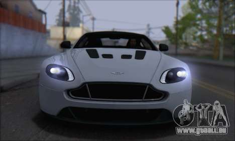Aston Martin V12 Vantage S 2013 pour GTA San Andreas sur la vue arrière gauche