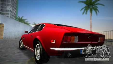 Aston Martin V8 Vantage 1970 für GTA Vice City linke Ansicht