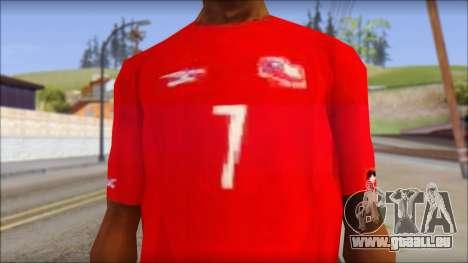Seleccion Chilena T-Shirt 2010 pour GTA San Andreas troisième écran