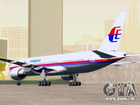 Boeing 777-2H6ER Malaysia Airlines pour GTA San Andreas moteur
