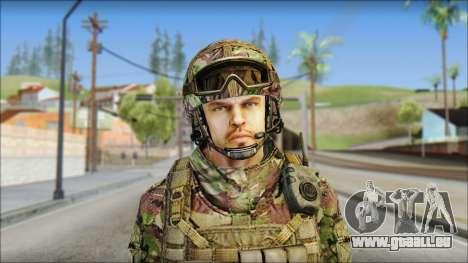 Forest SAS from Soldier Front 2 für GTA San Andreas dritten Screenshot