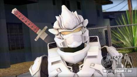 Halo 3 Hayabusa Armor pour GTA San Andreas troisième écran