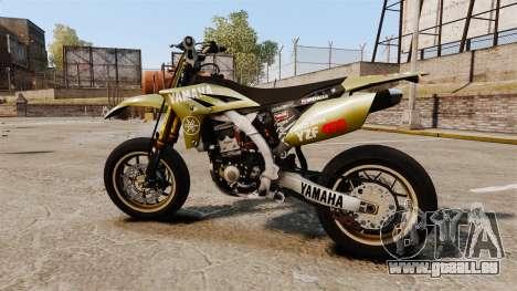 Yamaha YZF-450 v1.16 pour GTA 4 est une gauche
