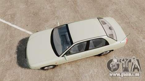Daewoo Nubira I Sedan CDX PL 1997 pour GTA 4 est un droit