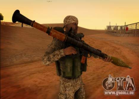 Grenadier VDV für GTA San Andreas