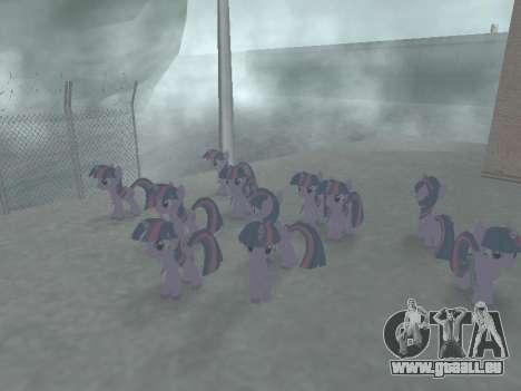 Twilight Sparkle pour GTA San Andreas sixième écran