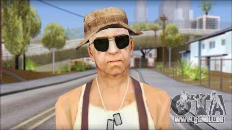 Teniente Armstrong pour GTA San Andreas troisième écran