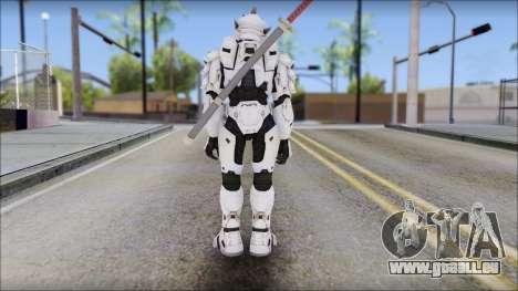 Halo 3 Hayabusa Armor pour GTA San Andreas deuxième écran