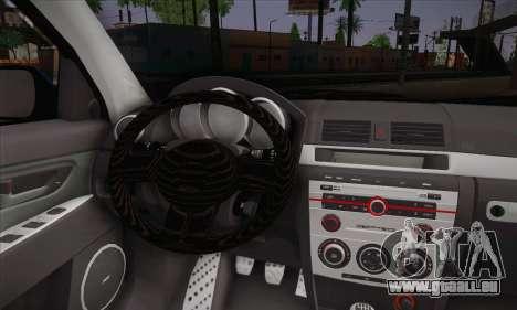 Mazda Speed 3 Tuning für GTA San Andreas zurück linke Ansicht