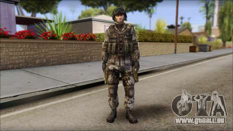 Urban GAFE from Soldier Front 2 pour GTA San Andreas