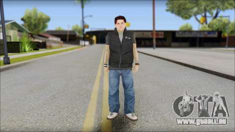 Paul from Good Charlotte pour GTA San Andreas