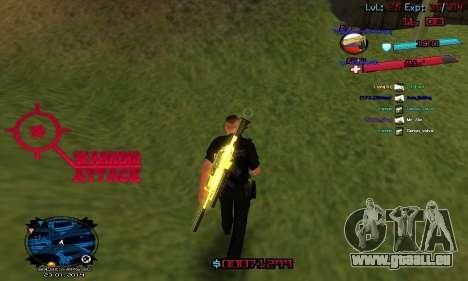 C-HUD by Accord für GTA San Andreas dritten Screenshot