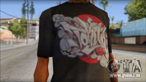 New Ecko T-Shirt für GTA San Andreas dritten Screenshot