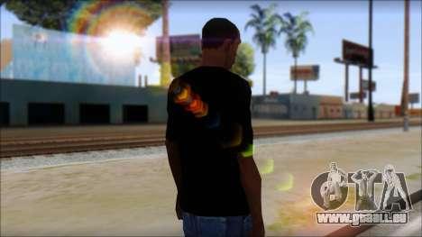 E Logo T-Shirt für GTA San Andreas zweiten Screenshot