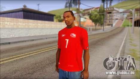 Seleccion Chilena T-Shirt 2010 pour GTA San Andreas