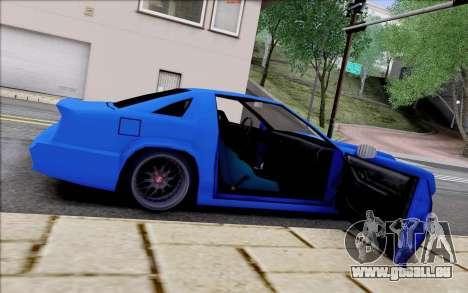 Buffalo Drift Style pour GTA San Andreas vue de dessus