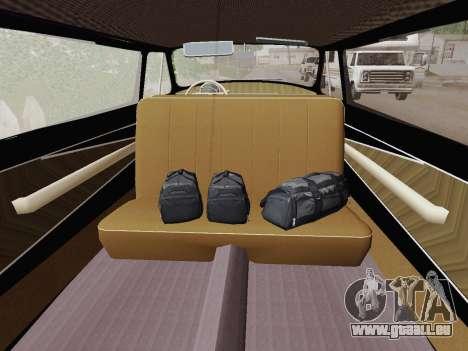 GAZ 21 Limousine für GTA San Andreas Rückansicht
