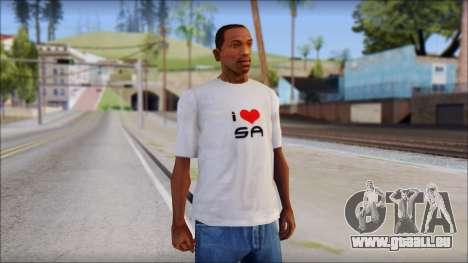 I Love SA T-Shirt für GTA San Andreas