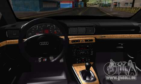 Audi S4 2000 pour GTA San Andreas vue de droite