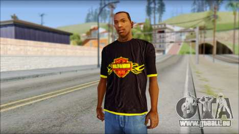 Harley Davidson T-Shirt pour GTA San Andreas