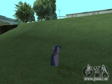 Twilight Sparkle pour GTA San Andreas septième écran