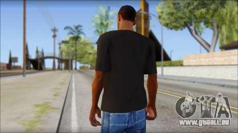 Chocolate T-Shirt pour GTA San Andreas deuxième écran