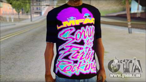 LMAFAO T-Shirt pour GTA San Andreas troisième écran