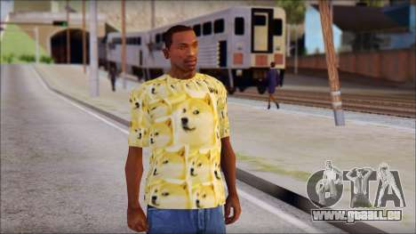 Doge T-Shirt pour GTA San Andreas