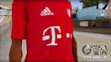 Bayern Munich 2013 T-Shirt pour GTA San Andreas troisième écran