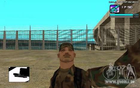 Perfect C-HUD für GTA San Andreas zweiten Screenshot