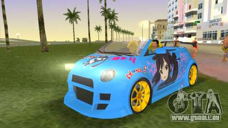 Fiat 500 ZTuning pour GTA Vice City
