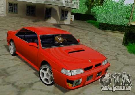 Sultan Coupe für GTA San Andreas