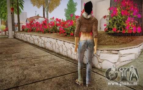 Alyx Vance CM (Adriana Lima) v.1.0 pour GTA San Andreas deuxième écran