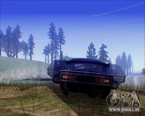 VAZ 2106 Accordables pour GTA San Andreas vue de droite