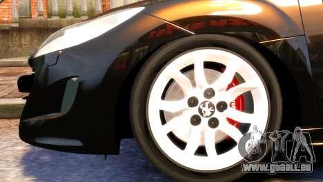 Peugeot RCZ für GTA 4 rechte Ansicht