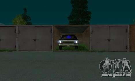 New FBI Rancher pour GTA San Andreas vue de droite