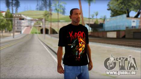 KoRn T-Shirt Mod pour GTA San Andreas