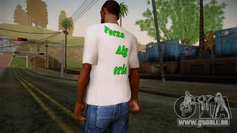 Keep Calm and Love Shirt pour GTA San Andreas deuxième écran