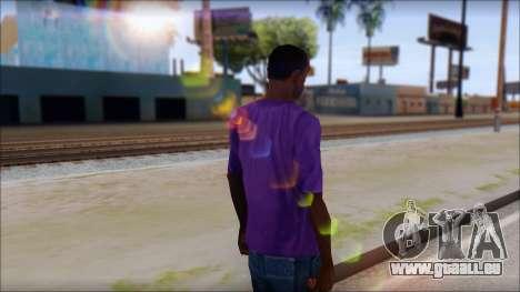 Dropdead T-Shirt für GTA San Andreas zweiten Screenshot